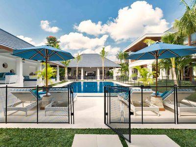 Villa Windu Asri - Pool fence
