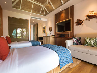 Angthong Villa - Exquisite bedroom three design