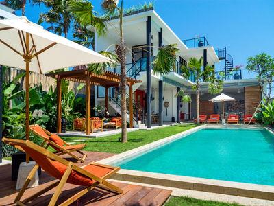 Villa Boa at Canggu Beachside Villas - Relax and enjoy the poolside