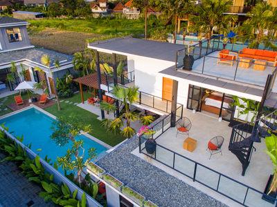 Villa Boa at Canggu Beachside Villas - Villa facade