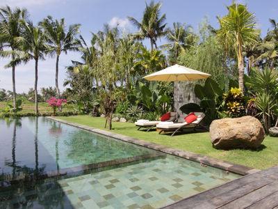 2. Villa Sarasvati - Pool and gardens