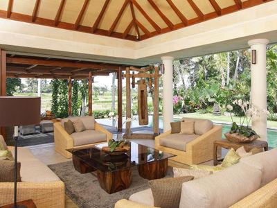 3. Villa Sarasvati - Main living area