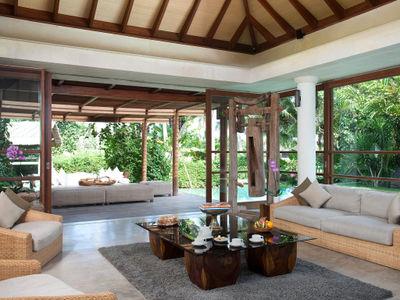4. Villa Sarasvati - Indoor living