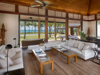 Villa Ananda - Living area