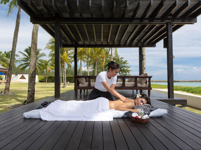 Villa Jia - Outdoor massage
