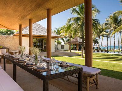Villa Shanti - Outdoor dining