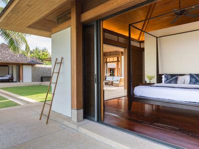 Villa Shanti - Bedroom features