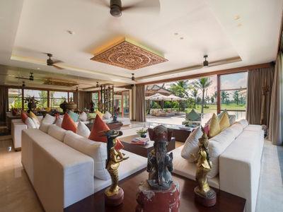 Kaba Kaba Estate - Living area view to garden