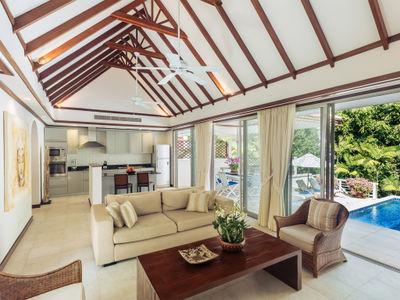 Villa Agrya - Living area