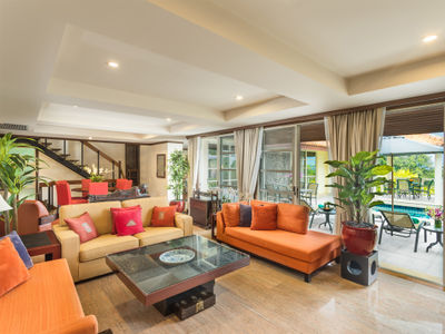 Villa Kamia - Living area