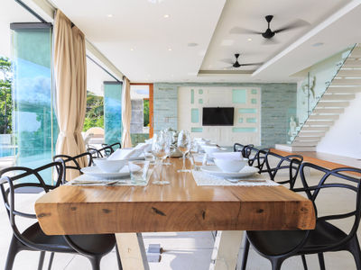 Villa Zest at Lime Samui - Dining area setting