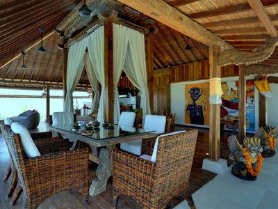 Majapahit Beach Villas - Maya Joglo - Bridal suite dining