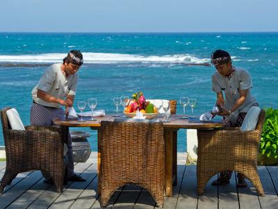 Majapahit Beach Villas - Maya - Alfresco dining