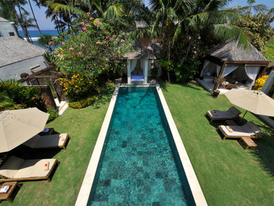 Majapahit Beach Villas - Nataraja - View from master bedroom