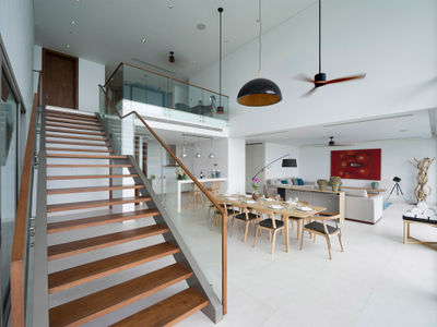 Malaiwana Duplex - Living and dining area