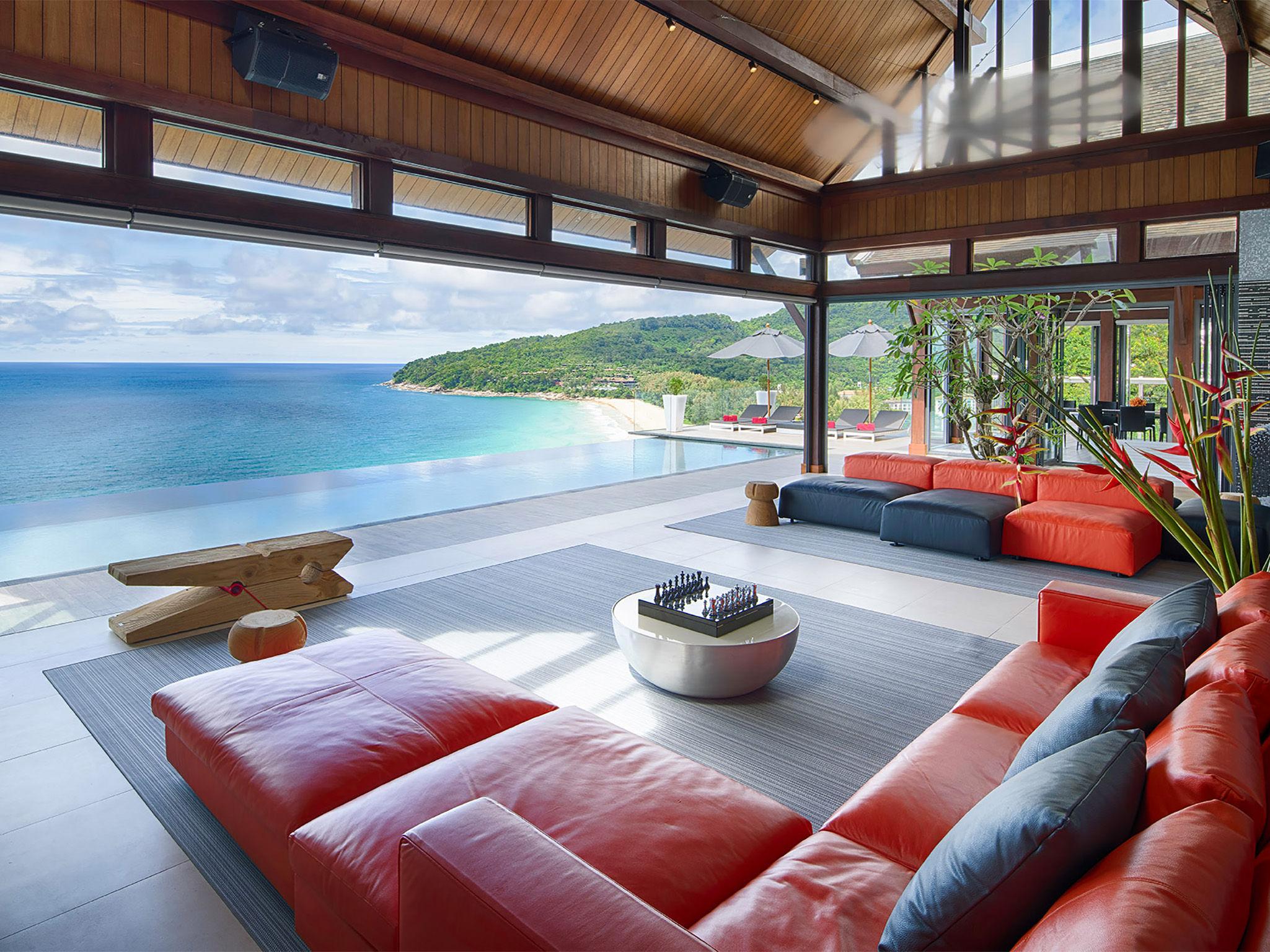 Malaiwana Villa M - Living area outlook