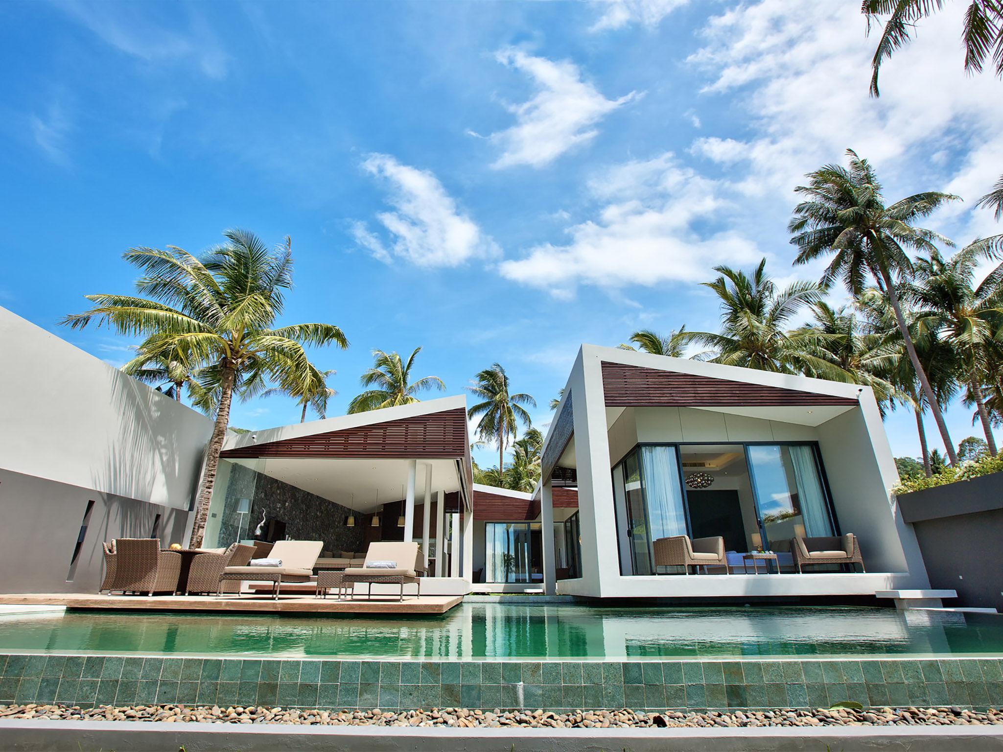 Villa Neung at Mandalay Beach Villas - Stylish villa facade