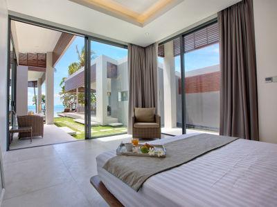 Villa Neung at Mandalay Beach Villas - Bedroom three with exquisite view