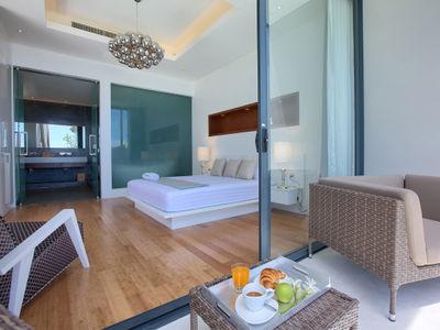 Villa Neung at Mandalay Beach Villas - Comfortable master bedroom