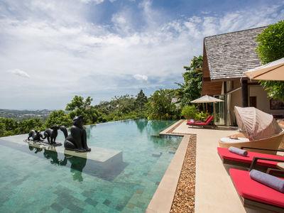 Villa Kalya - Pool area breathtaking view