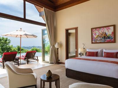 Villa Kalya - Bedroom one design