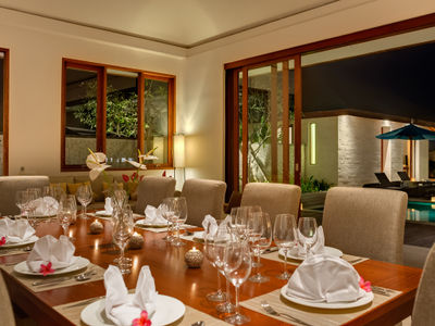 Pandawa Cliff Estate - Villa Marie - Dining