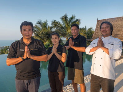 Villa Suralai - Dedicated staff