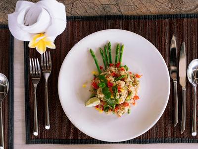 The Arsana Estate - Appetizing dish