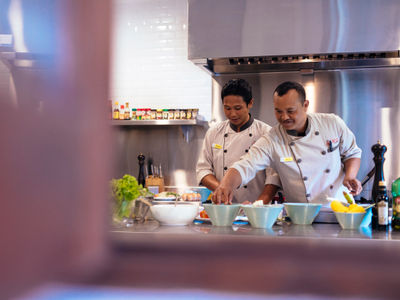 The Arsana Estate - Arsana chef in action