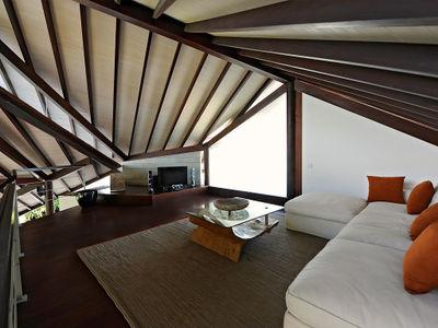 The Layar 2BR - Media room sofa