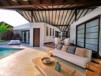 The Layar 1BR - Living room