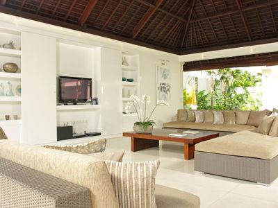 Villa Asante - Living area