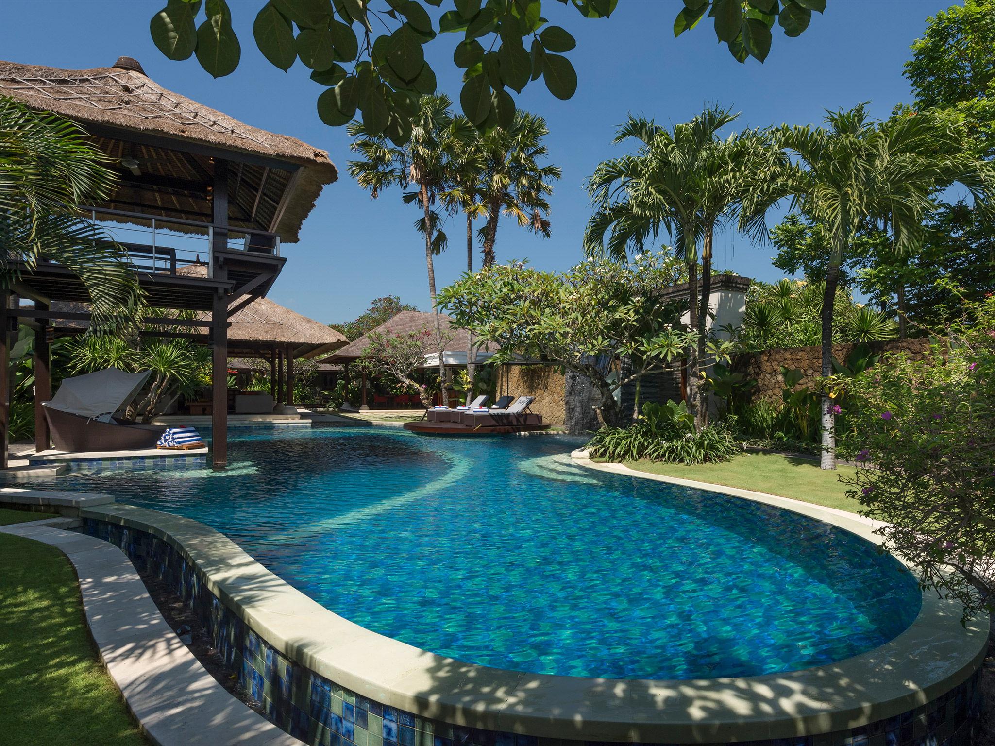 Villa Asta - The pool