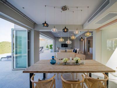 Villa Borimas - Dining area design