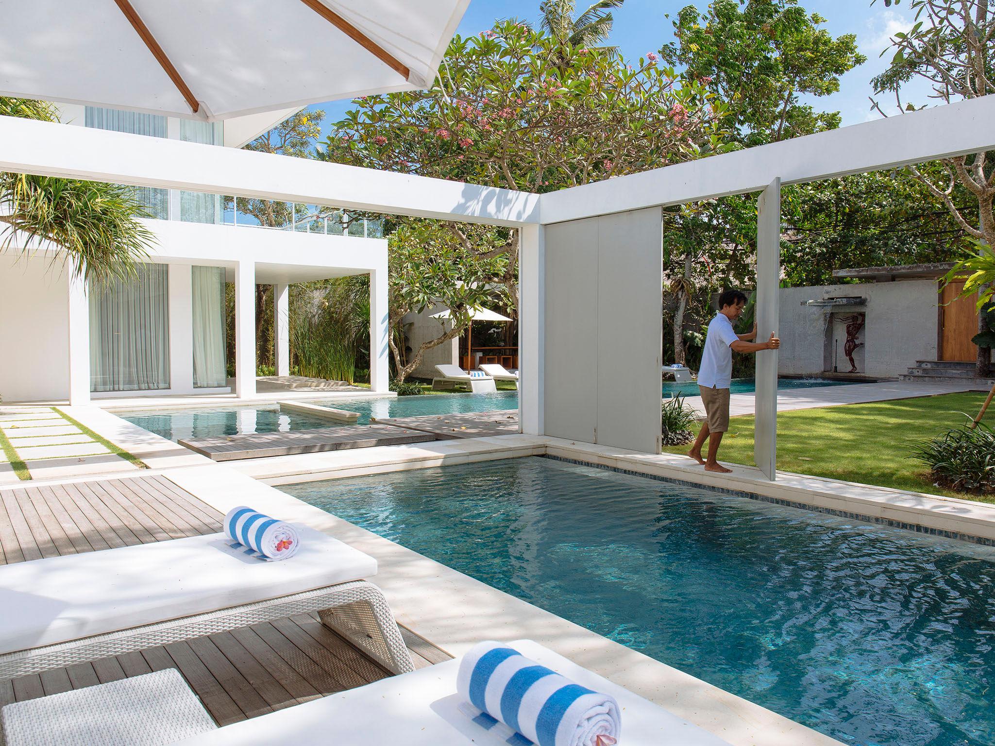 Villa Canggu - Joining villas North and South