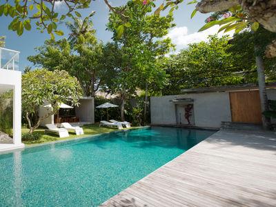 Villa Canggu - Villa South pool and deck