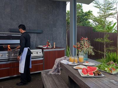 Villa Issi - BBQ area