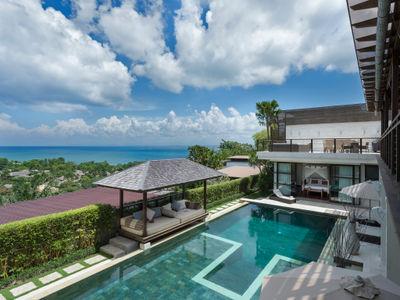 Villa Jamalu - View from left upstairs balcony