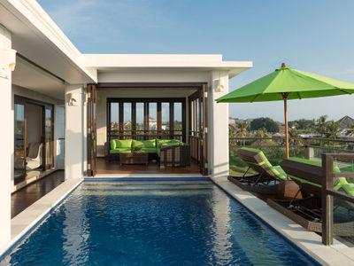 Villa Luwih - Upstairs pool