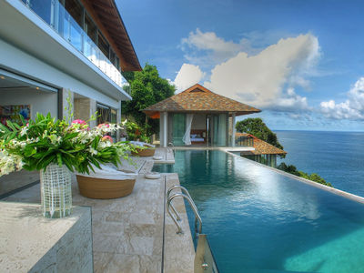 Villa Minh - From the pool edge