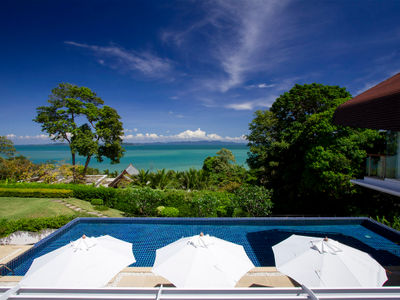 Villa Sapna - Amazing view from the pool area