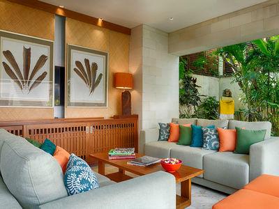Villa Shinta Dewi - Open living spaces