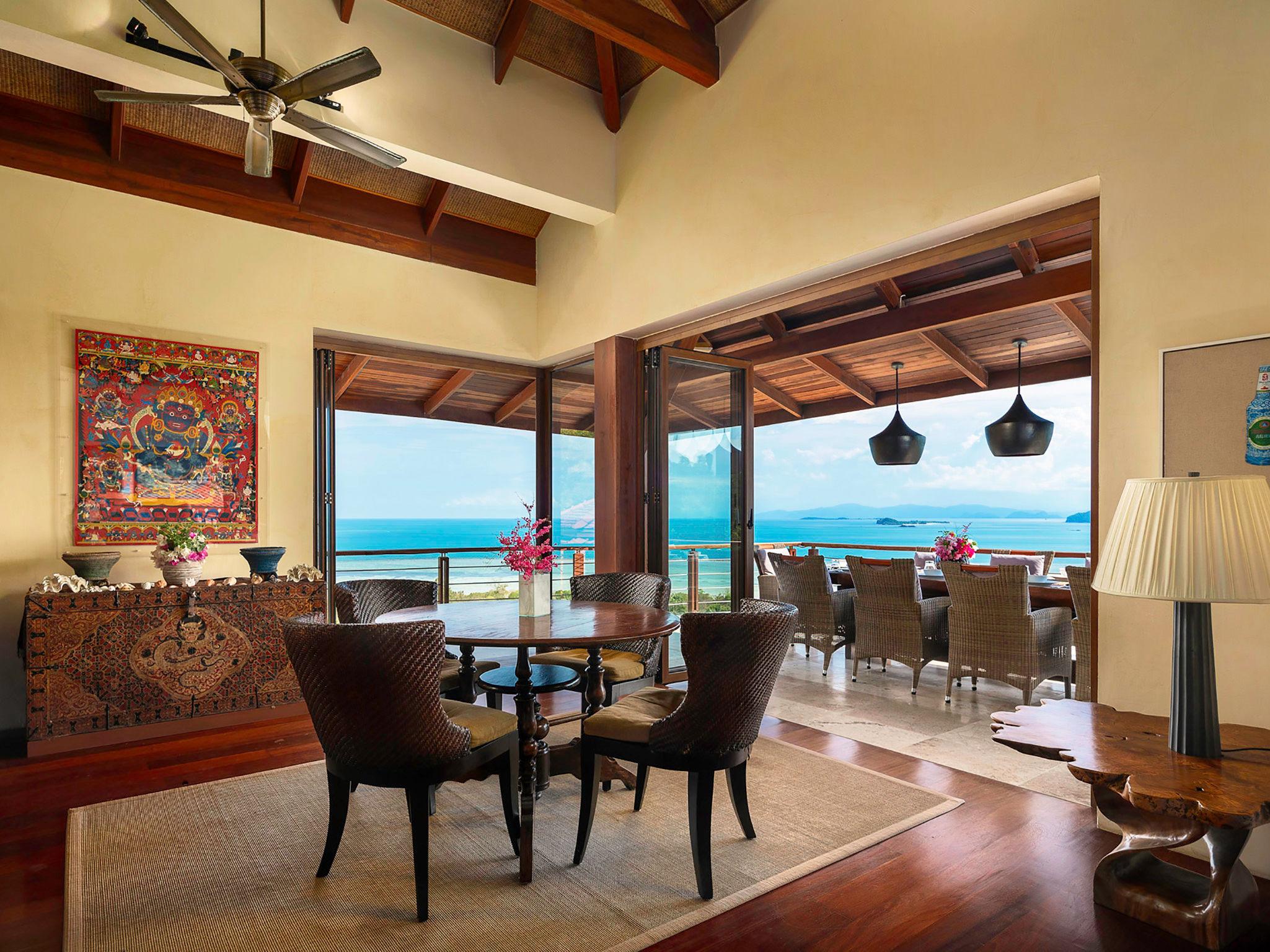Villa Sila Varee - Dining area design