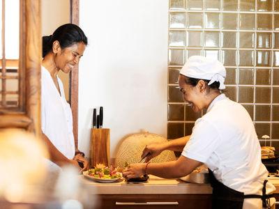 Waimarie - Food preparation