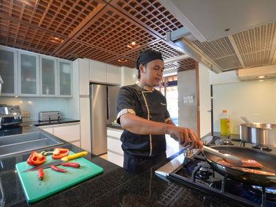 Villa Windu Sari - The villa's private chef
