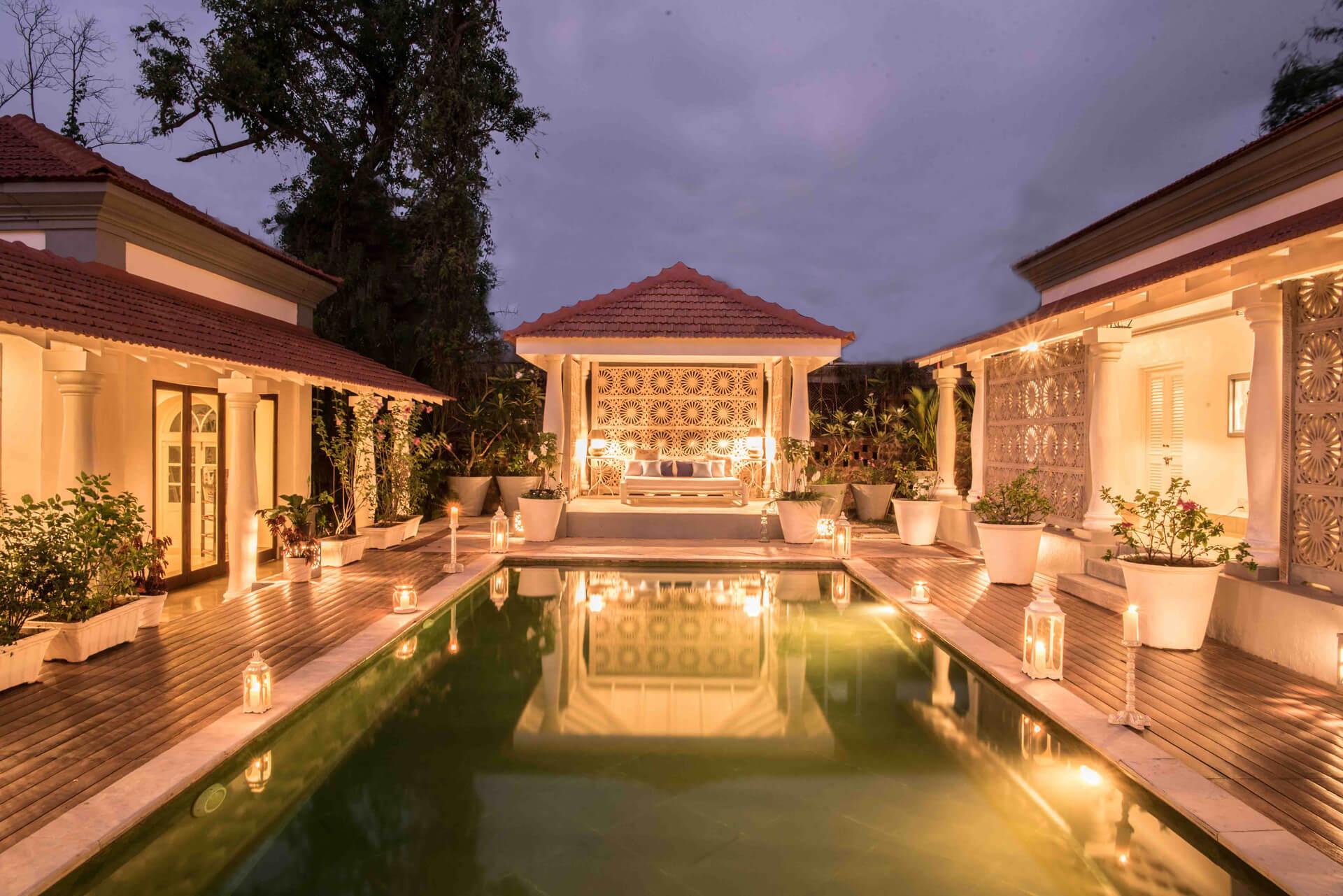 Luxury Pool Villa for Rent in Goa - Villa Branco