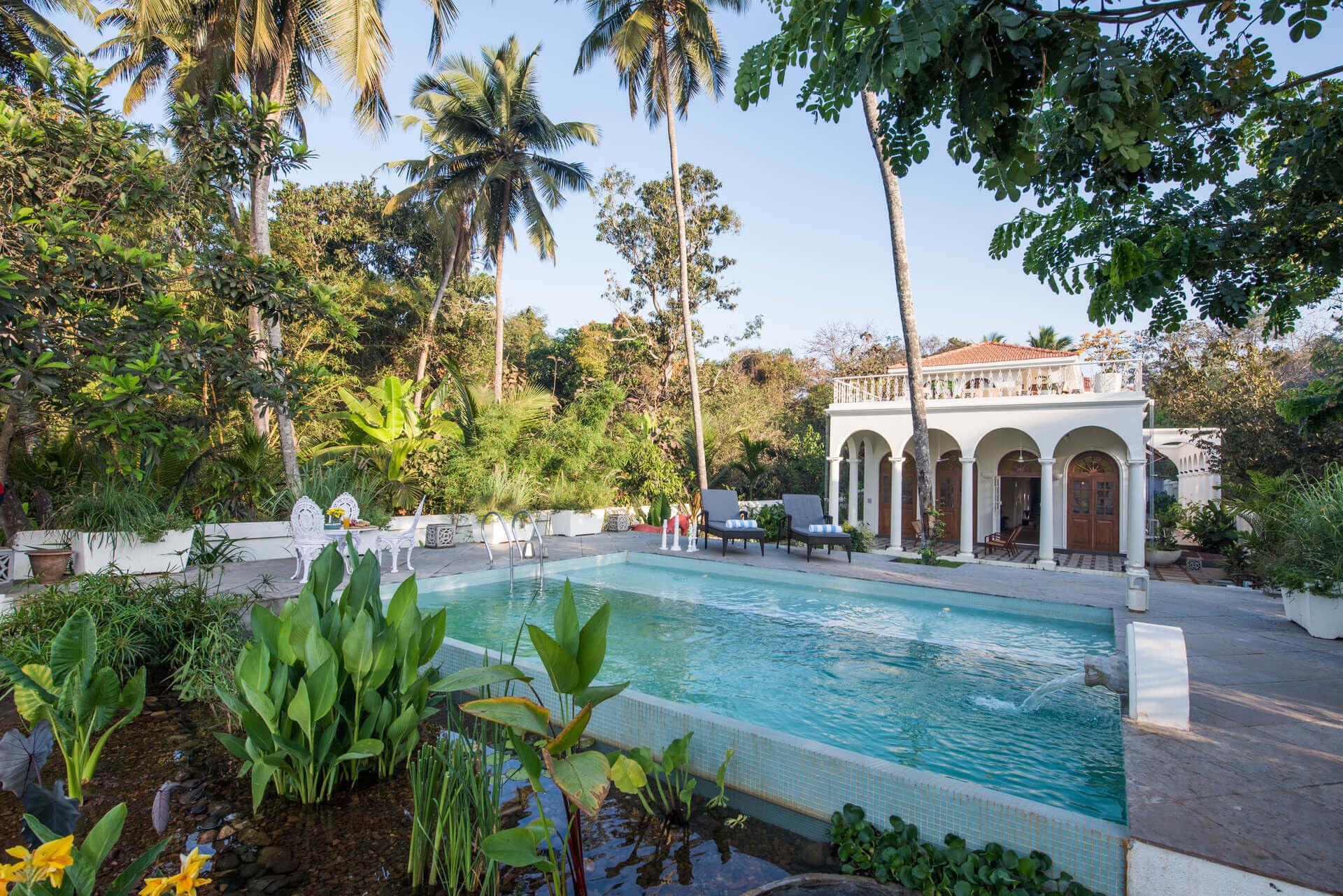 Private Villa for rent in Goa - Villa Loto Bianco