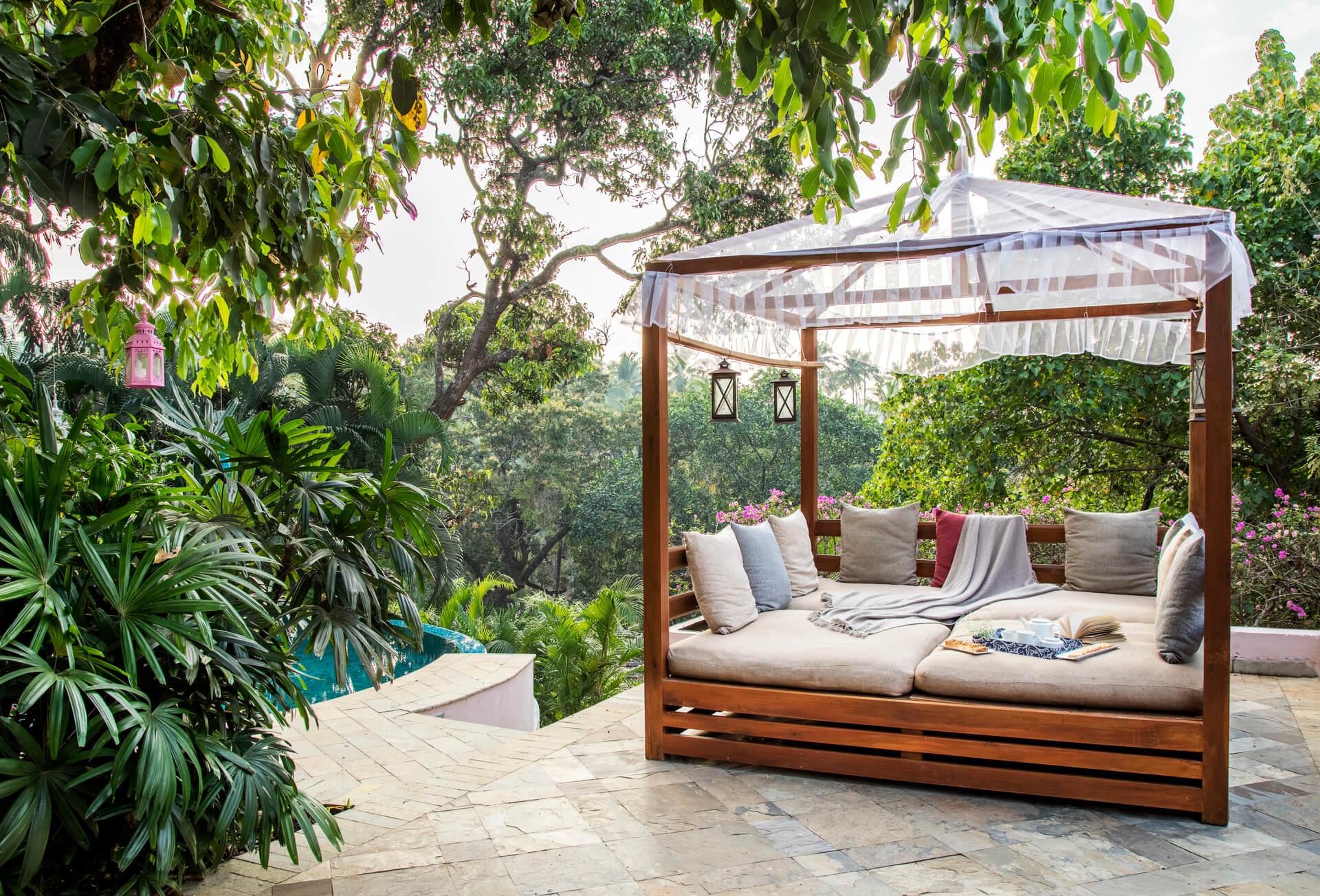 Rainbowtree - Private bungalow in Anjuna, Goa