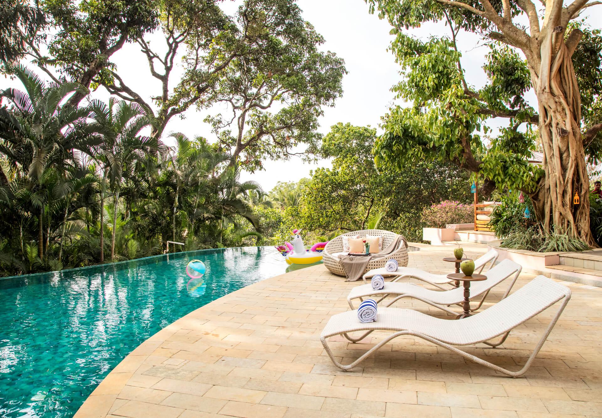 Rainbowtree - Private pool villas in Goa