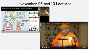 Sunday Lectures November 03 and Nov 10